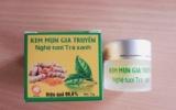 Thu hồi sản phẩm kem mụn gia truyền 'Nghệ tươi trà xanh'