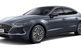 Hyundai Sonata Hybrid 2020 trang bị tấm pin mặt trời trên nóc xe