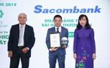 Sacombank vào Top 3 doanh nghiệp niêm yết được nhà đầu tư yêu thích nhất năm 2019