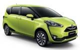 """Toyota """"trình làng"""" mẫu xe MPV cỡ nhỏ Sienta giá 570 triệu đồng"""