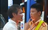Thanh Hóa: Tài xế xe biển xanh xúc phạm CSGT khi bị nhắc nhở