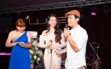 Ca sĩ Mạnh Quỳnh, NTK Hằng Nguyễn mừng Dương Huệ ra mắt Album đầu tay