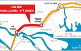 Dự án Trung Lương - Mỹ Thuận nhận 2.186 tỷ đồng từ ngân sách