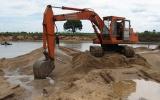 Cấm khai thác cát, sỏi tại khu vực bờ sông có nguy cơ sạt, lở