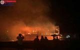 Kon Tum: Nhà rông văn hoá bị sét đánh cháy