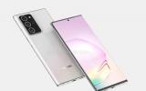 Galaxy Note20+ lộ diện có thiết kế góc cạnh và màn hình 6.9 inch siêu lớn