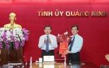 Quảng Ninh: Trưởng Ban Tổ chức Tỉnh ủy kiêm Giám đốc Sở Nội vụ