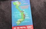 Bản đồ trên thẻ thu phí tuyến cao tốc Bắc Giang – Lạng Sơn không có quần đảo Trường Sa, Hoàng Sa