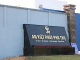 An Việt Phát Phú Thọ bị xử phạt, yêu cầu dừng hoạt động nhưng không chấp hành