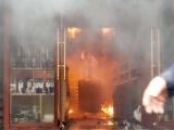 Khách sạn ở Hải Phòng cháy lớn, ít nhất 1 người tử vong