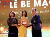 Phạm Thị Thuỳ Dương xuất sắc đạt giải nhất ngành chăm sóc da