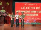 Giám đốc Công an tỉnh Thái Bình làm Phó Cục trưởng của Bộ Công an