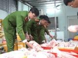 Hà Nội: Tạm giữ hơn 1,2 tấn trứng non, thịt vịt không đảm bảo vệ sinh