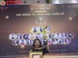 """Hà Thị Chuyên xuất sắc đạt giải nhì – Phun Thêu Thẩm mỹ tại cuộc thi """"Ngôi sao Thương hiệu Thẩm mỹ Việt Nam"""""""