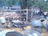 Hương Khê - Hà Tĩnh: Lửa thiêu rụi nhà hộ nghèo trong đêm