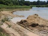 Hương Khê, Hà Tĩnh: Xã Gia Phố tự ý khai thác cát sỏi trái phép trên sông Ngàn Sâu