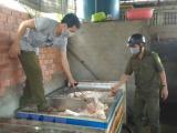 Phát hiện nhiều sản phẩm thịt lợn không rõ nguồn gốc