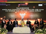 """Talkshow """"Ngôi sao Thương hiệu Thẩm mỹ Việt Nam và những giá trị cho cộng đồng"""""""