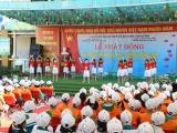Trẻ em Hà Nam hào hứng tham gia lễ phát động chương trình sữa học đường