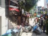 Xe khách tông hàng loạt người đi đường ở Quảng Ninh