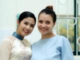 Người mẫu Trịnh Hồng Quế sinh con gái đầu lòng
