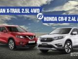 [Infographic] Chọn Nissan X-Trail hay Honda CR-V khi cùng tầm giá?