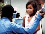 Hà Nội: Bé 18 tháng tuổi bị cô giáo mầm non tát đỏ thái dương