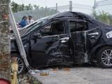Bình Dương: Chánh Thanh tra Sở NN-PTNT tử vong trong chiếc xe biến dạng
