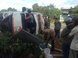 Đang chuyển viện cấp cứu vì TNGT, bệnh nhân thiệt mạng do...lật xe
