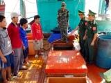 Bộ đội Biên phòng bắt giữ số lượng lớn dầu và than không rõ nguồn gốc xuất xứ
