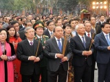 Thủ tướng dự khai hội Gò Đống Đa