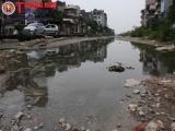 Hà Nội: Con đường 1km gần chục năm ô nhiễm, bốc mùi hôi thối
