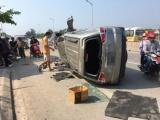 TP. Vinh: Ô tô mất lái lao thẳng vào nhà dân, 3 người bị thương