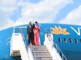 Thủ tướng Nguyễn Xuân Phúc đến Thủ đô Tokyo, bắt đầu chuyến thăm Nhật Bản