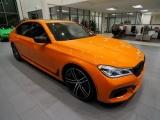 Cận cảnh BMW 750i màu cam 'hàng độc' trị giá hơn 3 tỷ đồng