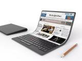Lenovo công bố ý tưởng mẫu laptop uốn cong được