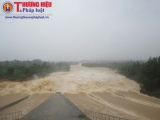 Xả lũ tại hồ thuỷ lợi lớn nhất Nghệ An