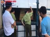 Hà Nội: Thu giữ hàng nghìn hộp gạch lát nghi nhái nhãn hiệu Royal