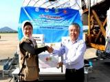 Việt Nam tiếp nhận 30 tấn hàng cứu trợ thiên tai từ ASEAN
