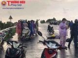 Hải Dương: Một phụ nữ bị sét đánh tử vong khi đang đi xe máy