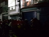 TP.HCM: Cháy nhà trong đêm khiến 2 người thương vong