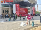 Hà Nội: Sôi nổi Hội thao chữa cháy và cứu nạn, cứu hộ quận Ba Đình