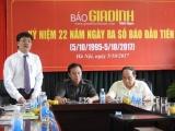 Tự hào 22 năm Báo Gia đình Việt Nam ra số đầu tiên