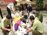 Lạng Sơn: Tiêu hủy hàng giả, hàng nhái trị giá gần 5 tỷ đồng