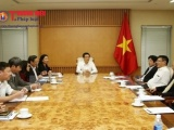 Phó Thủ tướng Vũ Đức Đam làm việc về xây dựng đề án tái cơ cấu ngành du lịch