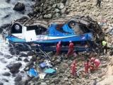 Peru: Xe buýt rơi xuống vực, 36 người thiệt mạng