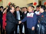 Thủ tướng Nguyễn Xuân Phúc trao Huân chương Lao động hạng Nhất cho đội U23 Việt Nam