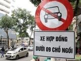 Hà Nội: Đề nghị cấm xe Uber, Grab trên 11 tuyến phố