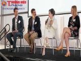 Bà Diệp Thảo nhấn mạnh về tầm quan trọng của cà phê Trung Nguyên trên diễn đàn CEO