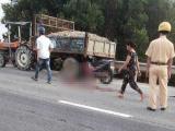 Thừa Thiên - Huế: Xe máy va chạm xe công nông, 4 người thương vong